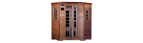 Saunas infrarouges en cèdre rouge et Carbone